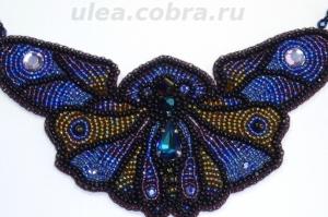 Колье ''Ночная бабочка''