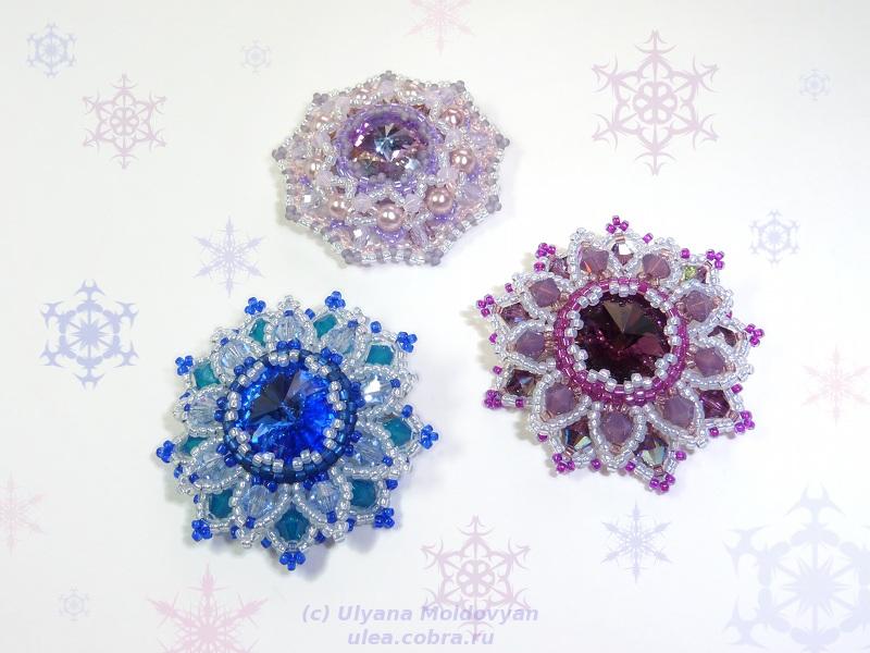 Украшения своими руками на новый год снежинки