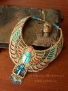 Колье в египетском стиле