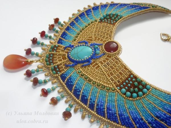 Колье в египетском стиле на заказ