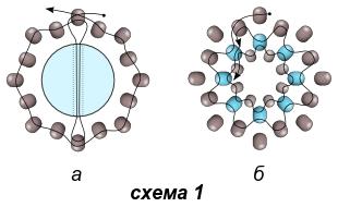 Схема серёжек и кулона 1