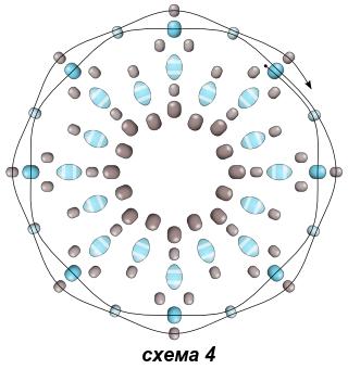 Схема серёжек 4