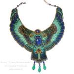 Колье-египетское-Нуит-богиня-неба